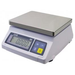 Kuchyňská váha na porce CAS SW 1S-20DR 20kg