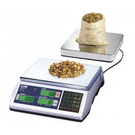 Počítácí váha CAS EC-2 6kg s možností externí plošiny