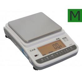 Lékárenská váha CAS XE 6000g s ověřením