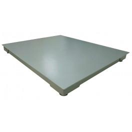 Snížená podlahová váha 4T 1500x1500 mm, 600kg