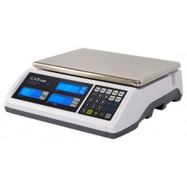 Váha obchodní CAS ER-PLUS 30kg - bez nožky