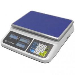 Váha s výpočtem ceny CAS PR2 15kg s ověřením