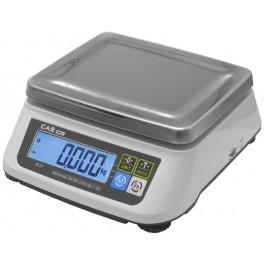 Váha na porce CAS SW2 s váživostí do 15kg