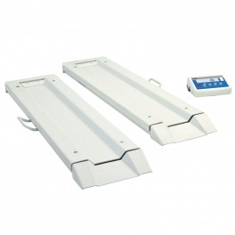 Vážicí lůžkové nájezdové váhy WPT/8B 300C
