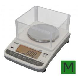 Zlatnická váha CAS XE 600g s ověřením